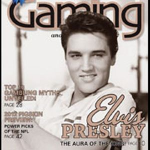 ELVIS PRESLEY Southern Gaming Magazine July 2012